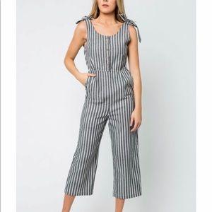 Mod Ref striped jumpsuit